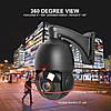 Зовнішня вулична Ip камера Boavision 30X 1080P P2P 2m поворотна Black, фото 9