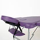 Массажный стол алюминиевый 2-х сегментный RelaxLine Hawaii кушетка массажная для массажа, фото 6