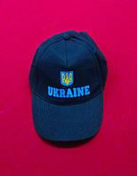 Український блайзер з патріотичним принтом, синій
