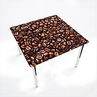 Стол обеденный на хромированных ножках КвадратныйMorning aroma