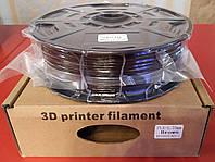 PLA пластик для 3D печати,1.75 мм, 1 кг Коричневый