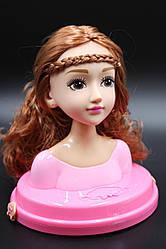 Детский манекен-кукла для создания причесок и макияжа  В371-1