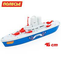"""Игрушка для ванной Кораблик, 46 см, Крейсер """"Смелый"""" (56405), Полесье"""