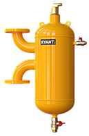 Сепаратор воздуха и шлама VRF-50 вертикальный KVANT AirDiRT