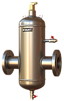 Сепаратор воздуха ТF.SS-50 нержавеющая сталь KVANT DisAir