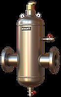 Сепаратор воздуха ТF.Q.SS-100 фланцевый,увел.расход,нерж.сталь KVANT DisAir