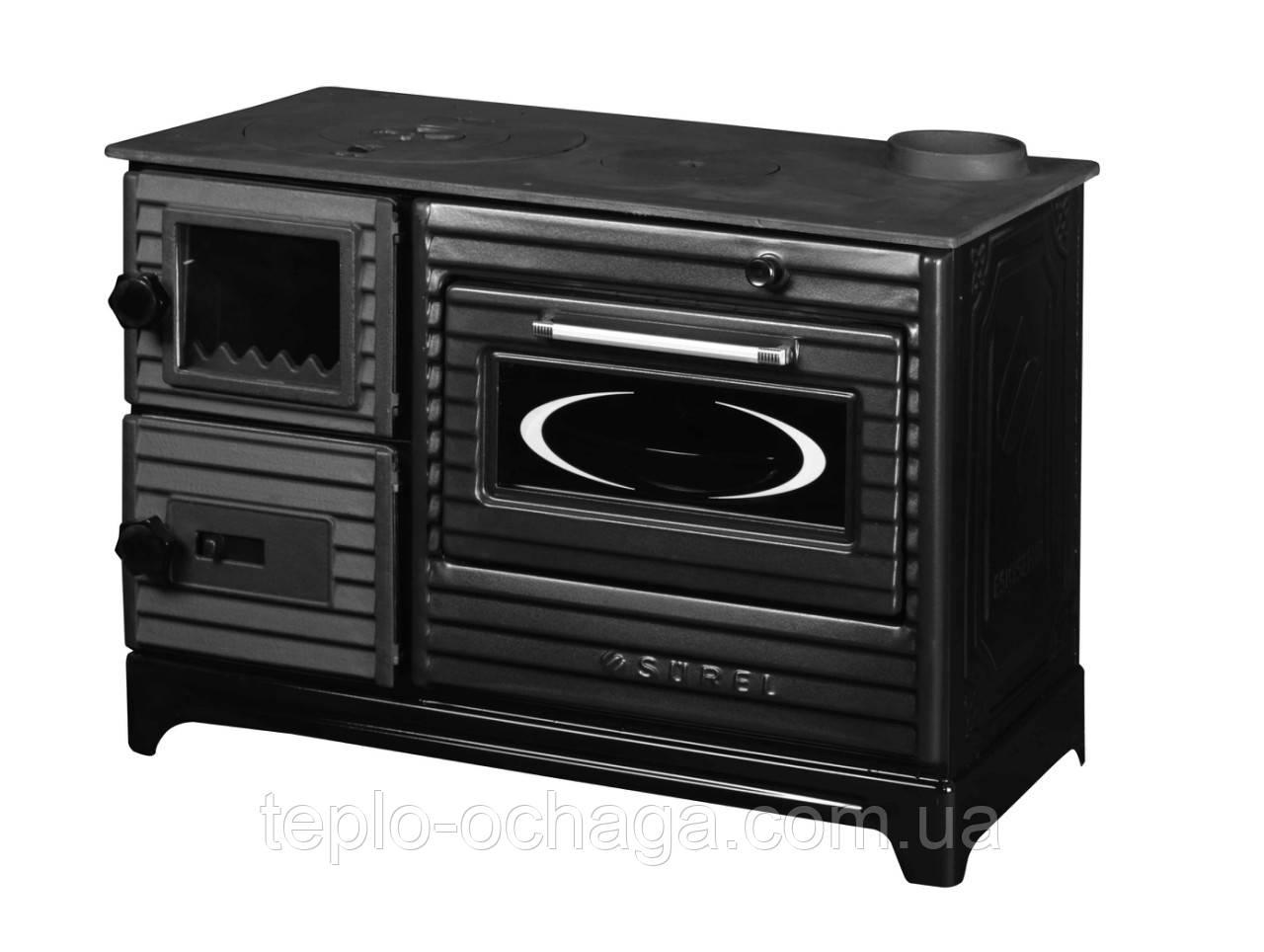 Duval EK-5237 BL отопительно-варочная печь серия SUREL Black Edition
