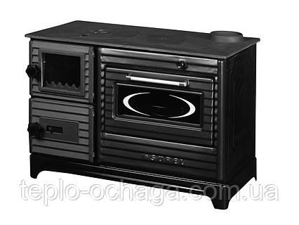 Duval EK-5237 BL отопительно-варочная печь серия SUREL Black Edition, фото 2