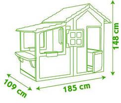 Игровой домик со звонком Neo Floralie Smoby 310300, фото 3