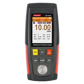 Прилад для перевірки товщини фарби ультразвукової кол. дисплей, 1-225мм WINTACT WT130A