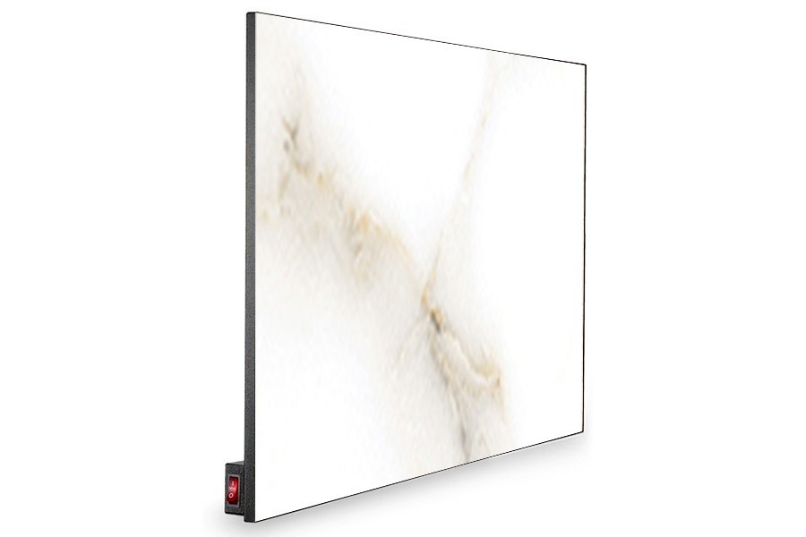 Керамическая панель Novaterm 6-NT700 Белый мрамор Carrara