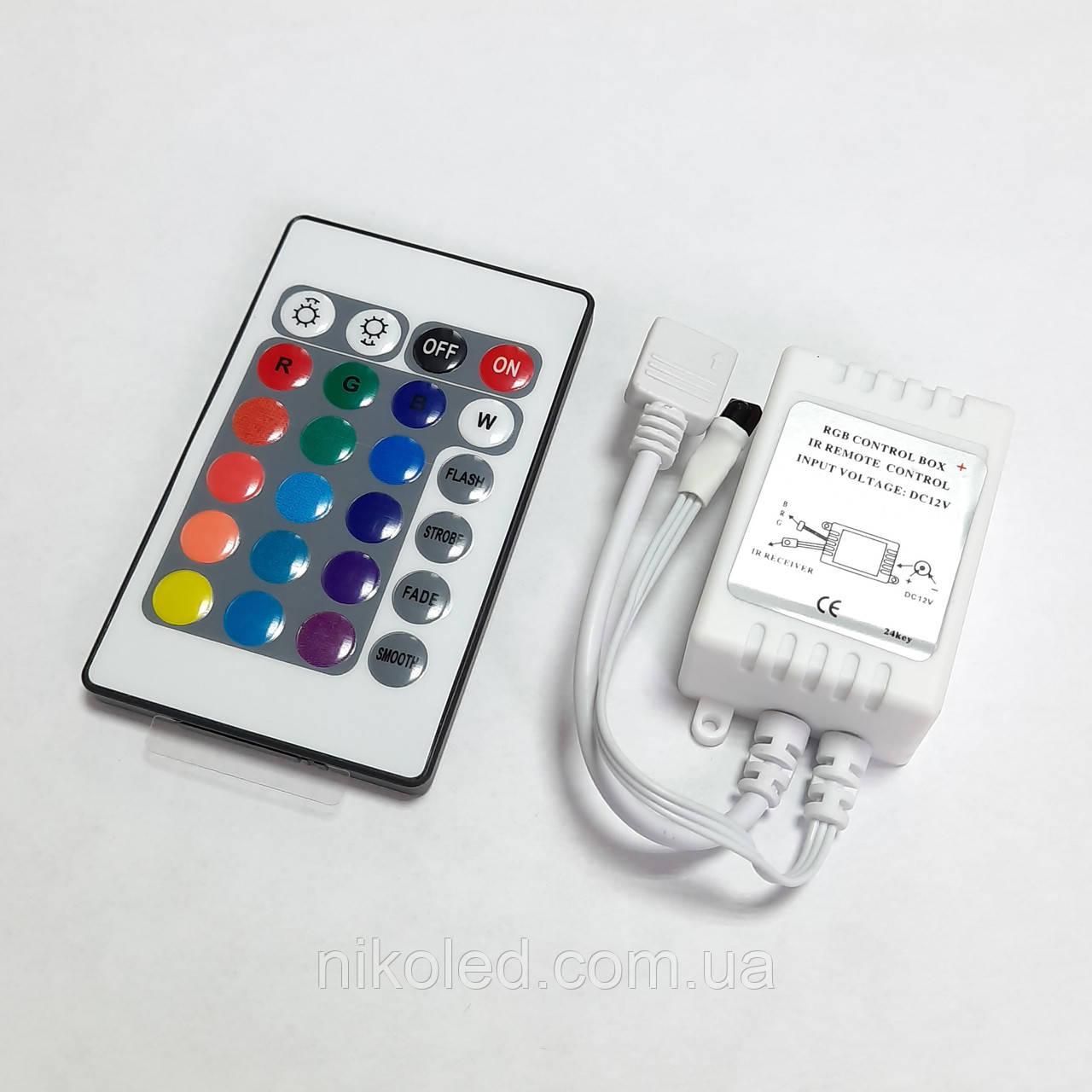 Контроллер RGB 6A ИК 24кн №21