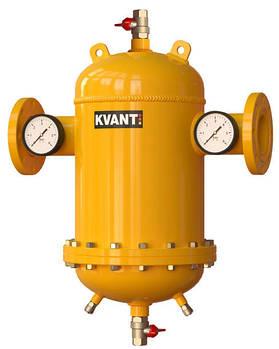 Сепаратор шлама DTF.DQM-100 разборной с увеличенным расходом и магнитным уловителем KVANT DisDirt