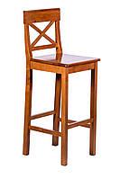 Деревянный барный стул Генрих