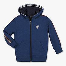 Синяя кофта с капюшоном для мальчика C&A Германия Размер 110