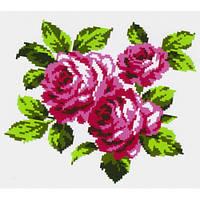"""Водорастворимый флизелин с рисунком """"Confetti"""" (K 301 Букет роз)"""