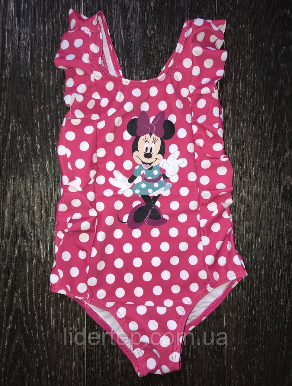 Купальник на Девочку Минни Маус Disney 2-3 года
