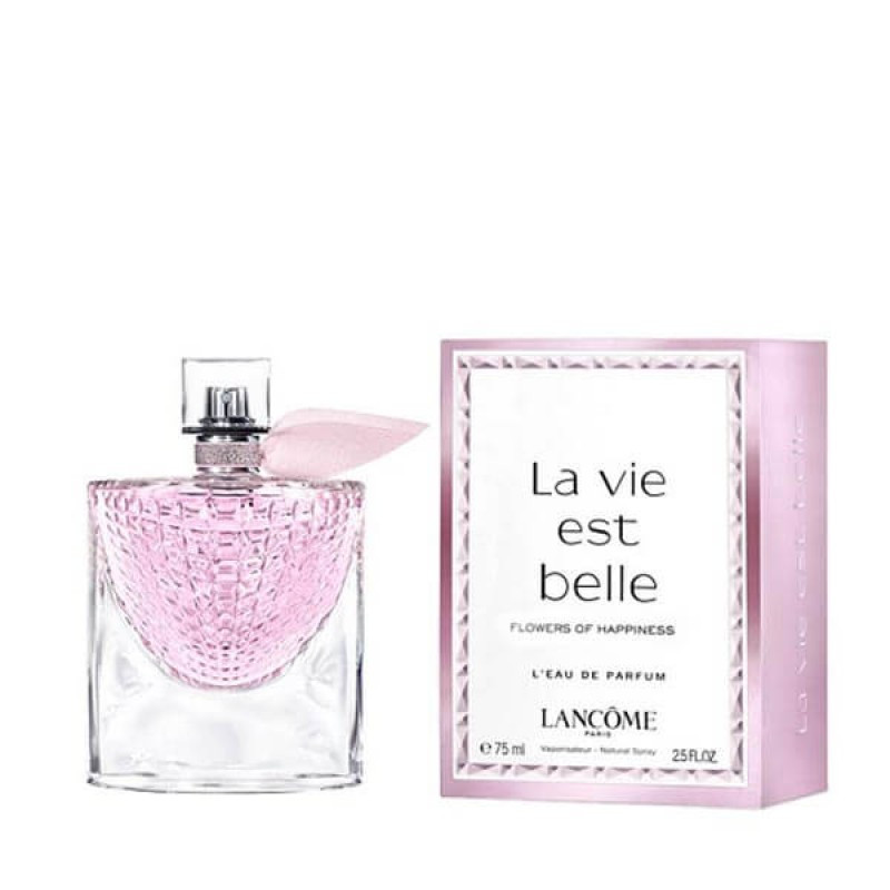 Парфюмерная вода для женщин Lancome La Vie est Belle Flowers Of Happiness, 75 мл МЯТАЯ УПАКОВКА