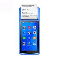 """POS-терминал с встроенным принтером чеков MAXAH, 5""""IPS, 58 мм, Android 6.0, GPS, 3G, WiFi, NFC, OTG"""