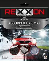 Автомобильные коврики влаговпитывающие в салон автомобиля 2 шт 40x60 см комплект, REXXON
