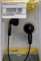 Навушники AWEI ES10M(Не вакуумні) Mp3, Mp4 чорний, фото 3