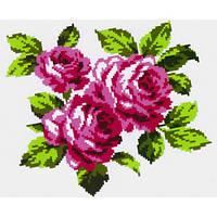 """Водорастворимый флизелин с рисунком """"Confetti"""" (K 302 Букет роз)"""
