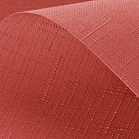 Рулонные шторы ткань Лён - Практичные тканевые ролеты с хорошей ткани цвет терракот
