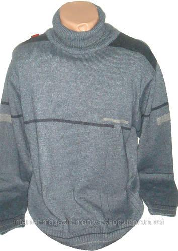 Мужской свитер теплый