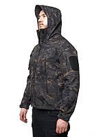 Тактическая куртка Softshell Esdy Shark Skin. Оригинал. Черный мультикам
