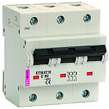 Автоматический выключатель etimat 10 c 25a 3p, фото 2