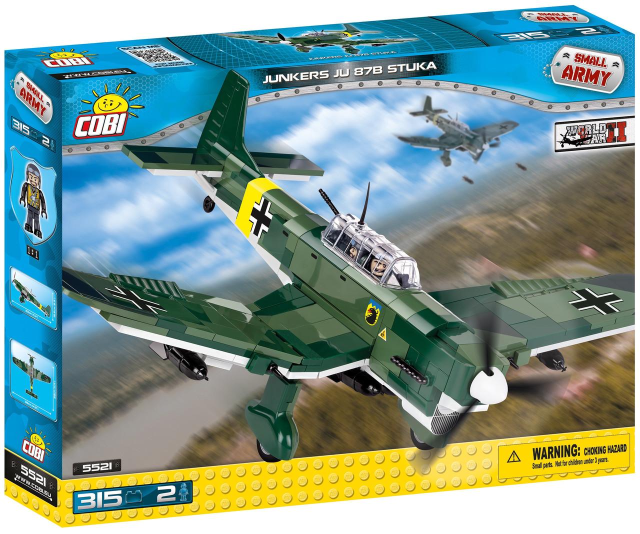 Конструктор Cobi Вторая Мировая Война Самолет B-25 Митчелл 500 деталей (COBI-5541) (5902251055394)
