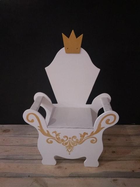 """Крісло дитяче """"Трон середній"""", 35 см. АКЦІЯ -25% до 03.04.20"""