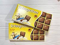 Шоколад Шогетен Schogetten 100г Детский молочный шоколад с сливочной начинкой
