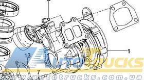 Турбіна D2676 Б/у для MAN TGX (51091007970)