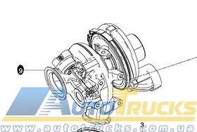 Турбіна D2676 Б/у для MAN TGX (51091017005)