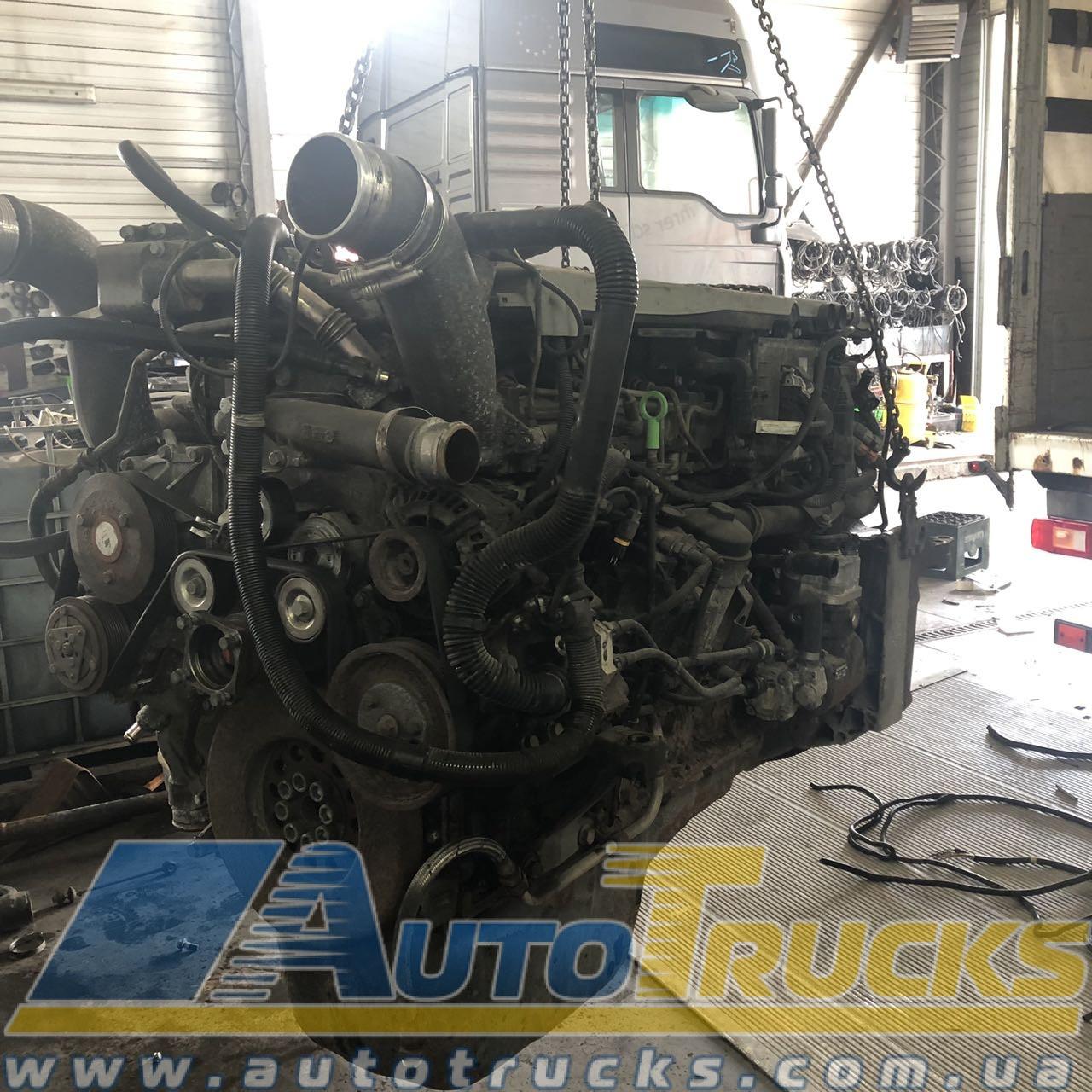 Двигатель D2066 LF04 Б/у для MAN TGA