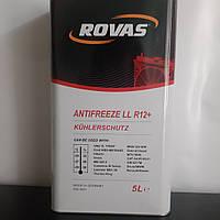 Антифриз концентрат ROVAS 5 л Красный -80° G12 ANTI – FREEZE  R12+ RED