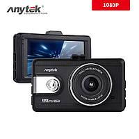 Видеорегистратор Anytek Q99P, дисплей 3 дюйма HD 1080P, Авторегистратор Анитек, регистратор в авто + подарок