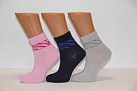 Женские носки высокие стрейчевые с бамбука STYLE LUXE NL зебра