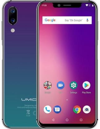 """Смартфон UMIDIGI One 4/32Gb Apple, 12+5/16Мп, 5,9"""" IPS, 2SIM, 4G (LTE), 3550mAh, Helio P23"""