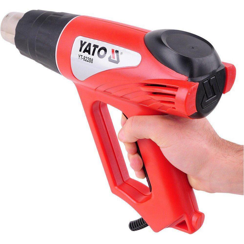 Фен технический 2 кВт 550°C YATO