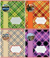 """Тетрадь 18 листов линия """"Шотландка"""""""