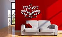 Декоративное металлическое панно Цветок Лотоса 2, фото 1