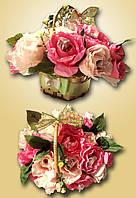 """Композиция букет цветы из конфет """"Нежность"""""""