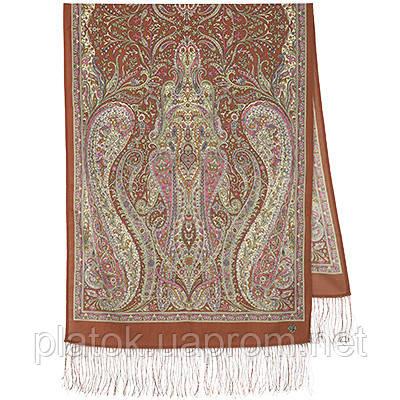 Ода грёзам 1560-56, павлопосадский шарф шерстяной  с шелковой бахромой