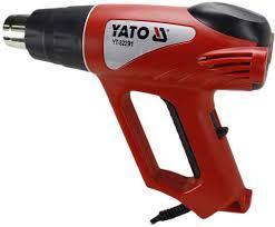 Фен технический 2 кВт 550°C с аксессуарами YATO