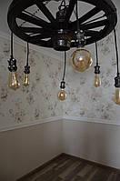 Светильники из дерева ручной работы, фото 1