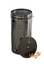 Бак отстойник для меда с нержавеющим фильтром 70 л