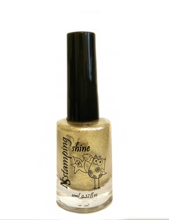 Лак для стемпинга Nail Story Shine №2 золото