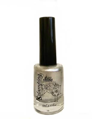 Лак для стемпинга Nail Story Shine №1 серебро